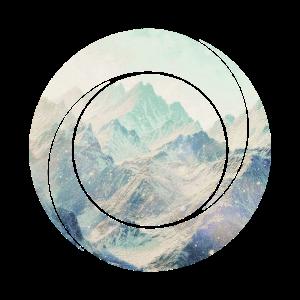 Berg natur geometrie