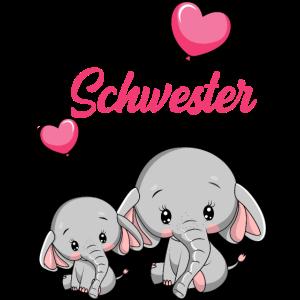 Große Schwester Elefant