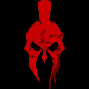 Helm Krieger Sparta Spartaner Blut