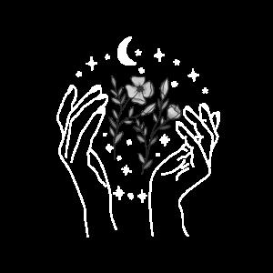 Unsere Erde, Natur, Blumen, Mond und Sterne