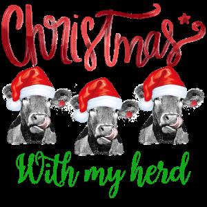 Weihnachten mit meiner Herde
