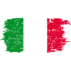 Italien Geste Flagge Italienisch
