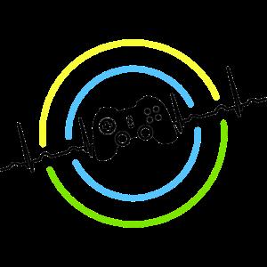 Herzschlag Neon Gaming Controller