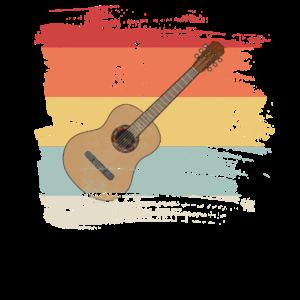 Retro Gitarre