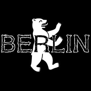 Berlin Kritzelschrift Hauptstadt Deutschland