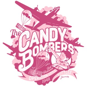 Candy Bombers Tribut rosa