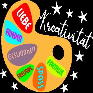 Kreativitaet Frieden Gesundheit Spass Familie