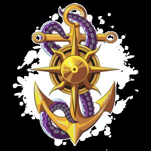 anker kompass tentakel