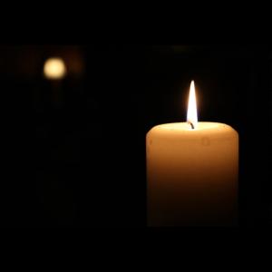 Stilvolle Kerze