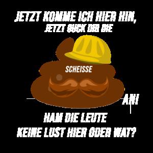 Bauarbeiter Lustiger Spruch Scheisse Cooler Spruch