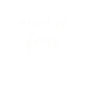 Stolze Mama von 4 Kindern - Mom of four vier Kids