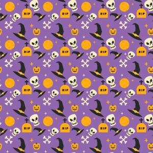Halloween Muster Hexen