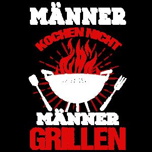 Männer Grillen Grillmeister Griller Geschenk