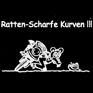 Ratten- Scharfe Kurven !