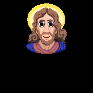 Jesus Clip Art Große Augen Jesus überraschte Jesus