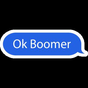 Ok Boomer Chat Blase Textblase