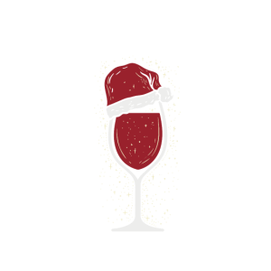 Lustiges Weihnachtsshirt Weihnachten Wein T-Shirt