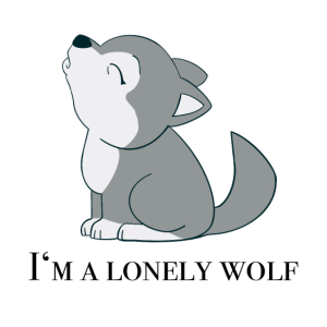 Design: I'm Lonely Wolf