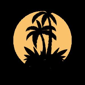 Summer Beach Skull