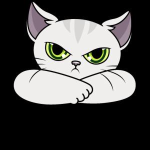 Nope Katze Katzen Haustier Nein Nö lustige Sprüche