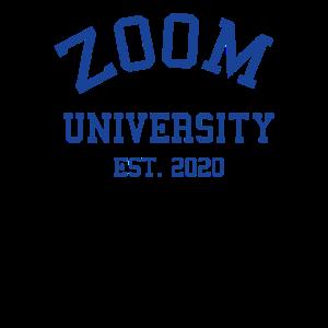 Zoom University Est 2020 Quarantine