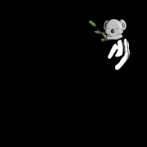 Koala Bär Tasche Essen Süß 3D Liebe