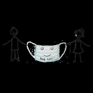 Coronakrise - Mund- Nasenschutz tragen