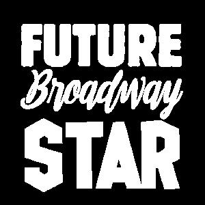Broadway-Schauspielerin Futututre Broadway-Star Kr
