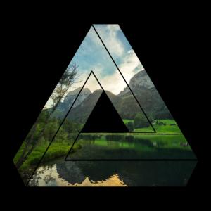 Landschaft Dreieck / Natur / Geschenk