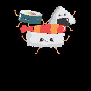 Sushi TShirt Geschenkideen