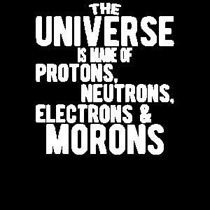 Das Universum besteht aus Protonen