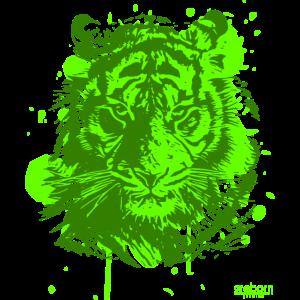 2reborn Tiger Lion Löwe Jäger grün