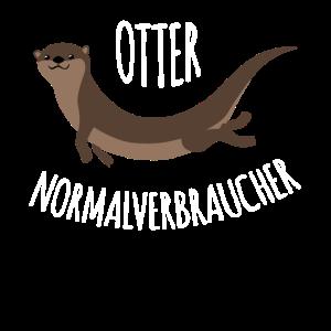 Otter Ottonormalverbaucher Spruch lustig