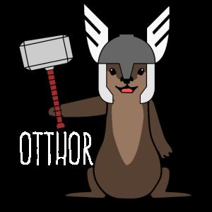 Otter - lustiger Thor Otthor Spruch