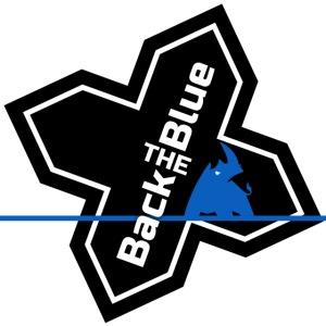 Back the Blue Rhinocross