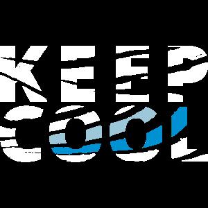 keep cool white - vektor - Farben anpassbar