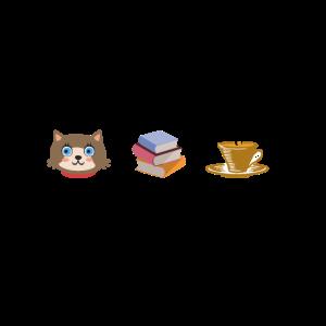 Cats Books Coffee