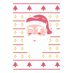 Merry Christmas! Weihnachten Geschenk Retro Pixel
