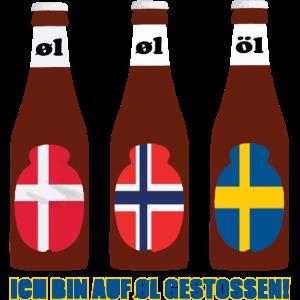Skandinavien Biershirt