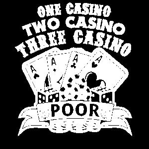 One Casino Two Casino Three Casino Poor Las Vegas
