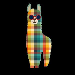 Alpaka Lama Geschenke Vintage Retro Alpaca