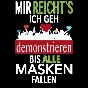 Grundgesetz Demonstration Widerstand