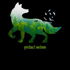 Naturschutz Fuchs Umwelt Tier Geschenk