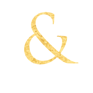 & und Zeichen Hochzeit in Gold Symbol