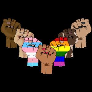 Stolz LGBT Schwarz Hispanic Latin Asian Sexual