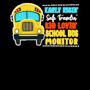 Early Risin' Safe Travelin' Kid Lovin' School Bus