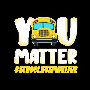 You Matter School Bus Monitor