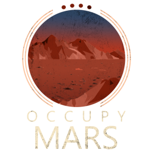Mars besetzen erobern Planet Berge