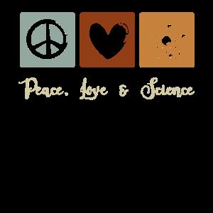 Peace, Love & Science, Frieden Wissenschaft Liebe