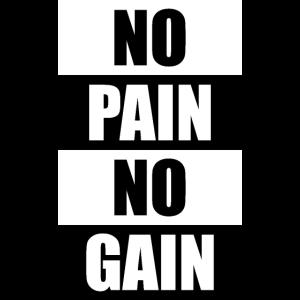 No Pain No gain Simple